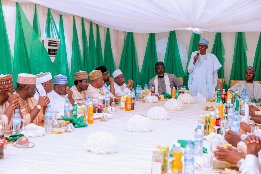 Buhari with APC Governors