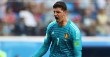New Real Madrid goalkeeper Thibaut Courtois