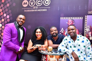 Odunlade Adekola, Hilda Dokubo, Kunle Afolayan, femi adebayo) (Pls replace, the cover photo with this as I can only identify one person