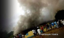 Angry residents set police station ablaze at Iwo Town, Osun state