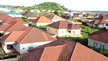 Housing Estates used to illustration the story. [Photo credit: The Guardian Nigeria]