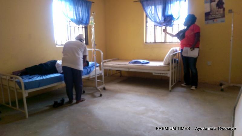The ward in Dakwa PHC