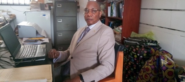 Professor of Pharmacognosy at Obafemi Awolowo University, Joseph Aladesanmi