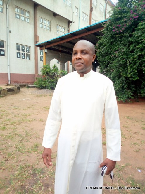 Emmanuel Likoko, the parish priest of St Matthew Catholic Church, Amukoko, Lagos