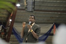 Pastor Enoch Adeboye of the Redeemed Christian Church of God