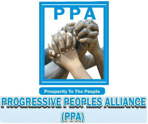 Progressive Peoples Alliance's Logo [photo: The New Diplomat]