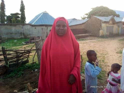 Salamatu Abubakar, a victim of wreckage in child marriage