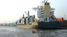 Lagos sea port usef to illustrate the story. [Photo credit: The Guardian Nigeria]