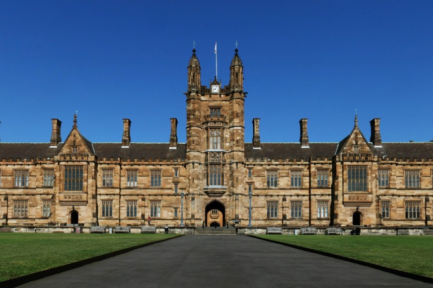 Australian universityh used to illustrate the story. [Photo credit: Online Education - Blogger]