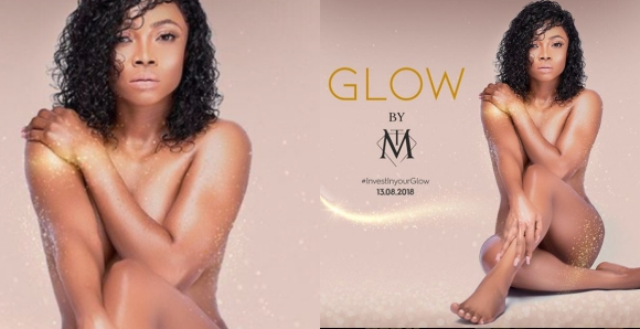 Toke Makinwa's controversial poster