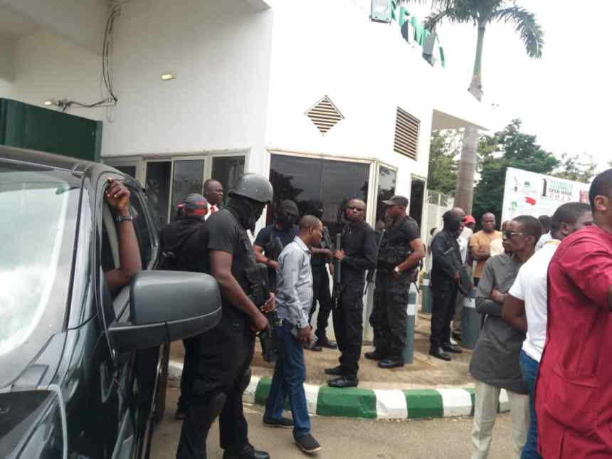 The siege at the National Assembly by security operatives from the DSS