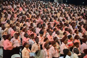 A cross section of worshipers at the Redeemed Church annual convention
