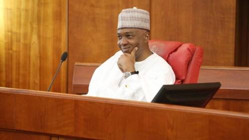 Senate President, Bukola Saraki.
