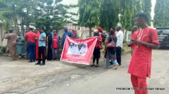 Sorow, tears as BBOG members visit Red Cross office.