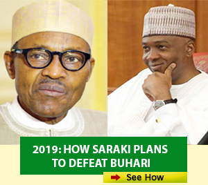 Buhari-Saraki Advert