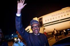 President Buhari returns to Abuja after the UNGA73 [Pix: Bashir Ahmad]