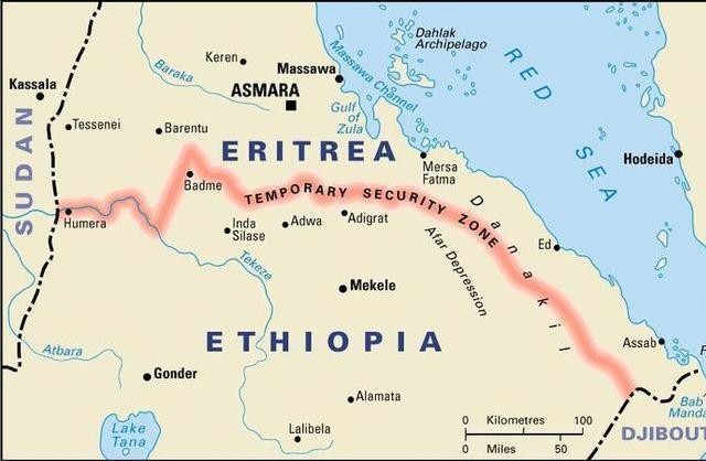Ethiopia/Eritrea border