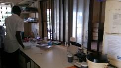 laboratory, Abaji township centre