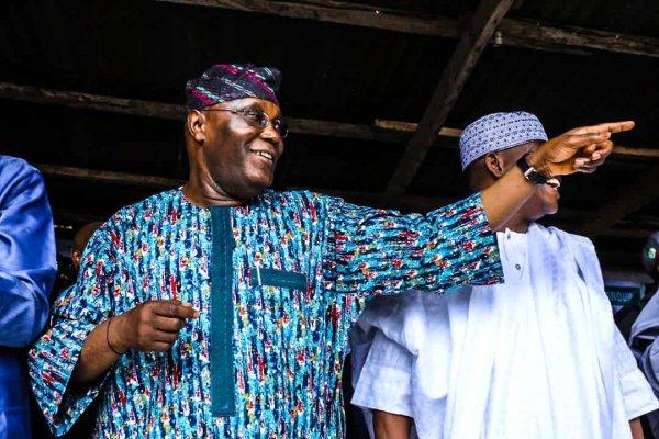 Atiku Abubakar in Lagos