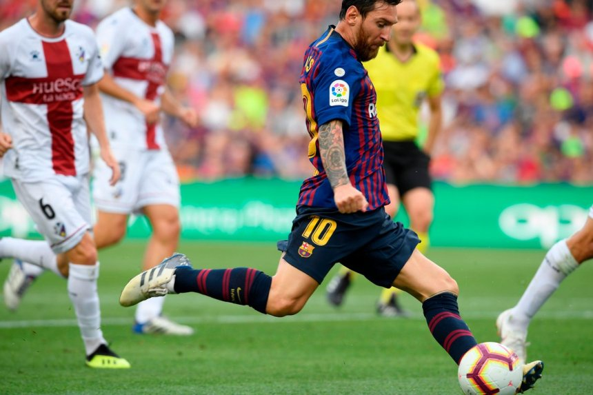 Lionel Messi (Photo Credit: Opta Joe)