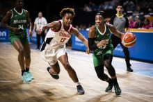 The Nigeria national women's basketball team, D'Tigress