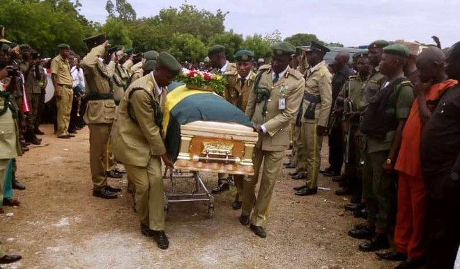 Retired Assistant Controller-General of Prisons Nanvyat Gwali buried in his hometown