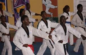 Nigeria Taekwando fighters. [PHOTO CREDIT: Independent Newspapers Nigeria]