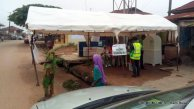 7.33a.m., electoral officers still setting up at PU 9, ward 2, Ede North. The PDP candidate, Ademola Adeleke is expected to vote here.