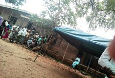 8.57am: Voting is going on peacefully, the aged are being as required at Ward 07, PU 007,Community Pry. School, Oke-Ada, Irewole LGA, State of Osun.