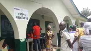 11:16 pm ward 9, unit 5, the total number of reg voters 614 at Jehovah jire school, Iba Town, Ifelodun LGA.