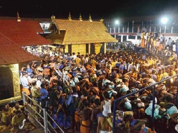Women of reproductive age, roughly 10 to 50, were banned for centuries from entering the inner sanctum of the Sabarimala Temple.