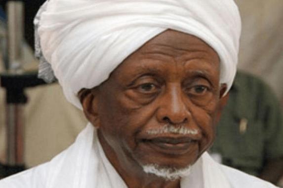Former Sudanese president, Abdulrahman Suwar Al-Dahab,