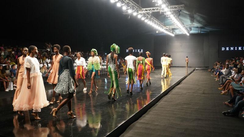 Bloke at the Lagos Fashion Week