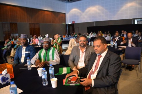Cross section of particpants at Africa Investment forum during the GITEX 2018