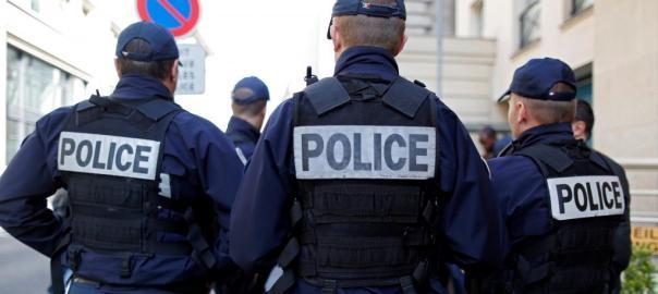 French Police (Photo Credit: RFI)