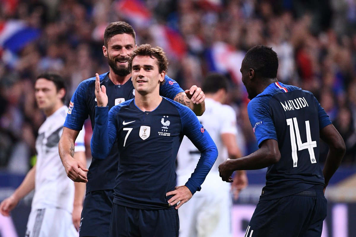 France 2, Germany 1: Griezmann scores 2 in Nations League