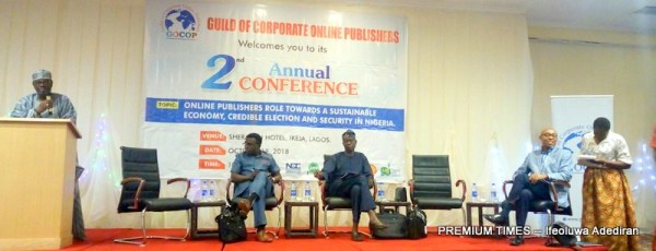 Picture from the event by Guild of Corporate Online Publishers in Lagos