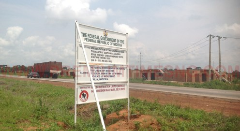 Enugu-Onitsha Expressway under construction [Photo: James Eze]