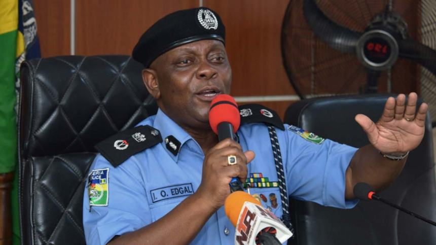 Lagos State Commissioner of Police, Imohimi Edgal [Photo: The Guardian Nigeria]