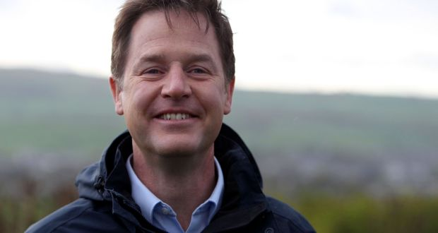 Former British Deputy Prime Minister, Nick Clegg (Photo Credit: The Irish Times)