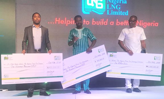 Nigeria LNG prize for science, literature winners named
