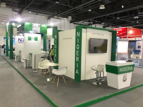 Nigerian pavilion at GITEX 2018 in Dubai