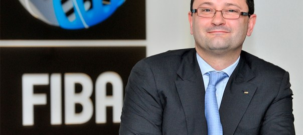Patrick Baumann, the 51-year-old secretary general of basketball's world governing body
