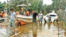 Aftermath of Sri Lanka flood disaster {photo: Sunday Observer}