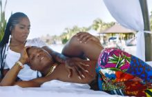 Tiwa Savage and Wizkid in Fever