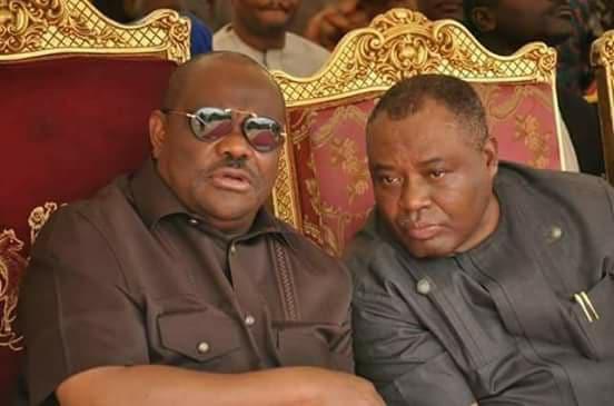 Nyesom Wike and Senator Osinachukwu Ideozu