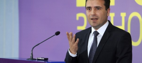 Zoran Zaev, Macedonian PM [Photo: Greek Reporter]