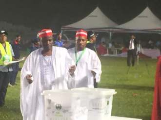 Kwankwaso has cast his vote