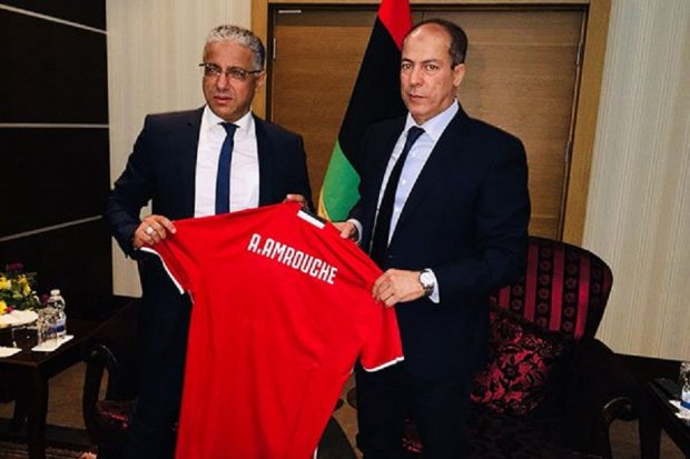 Libyan coach, Adel Amrouche
