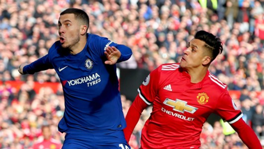 Eden Hazard and Alexis Sanchez. [PHOTO CREDIT: Goal.com]